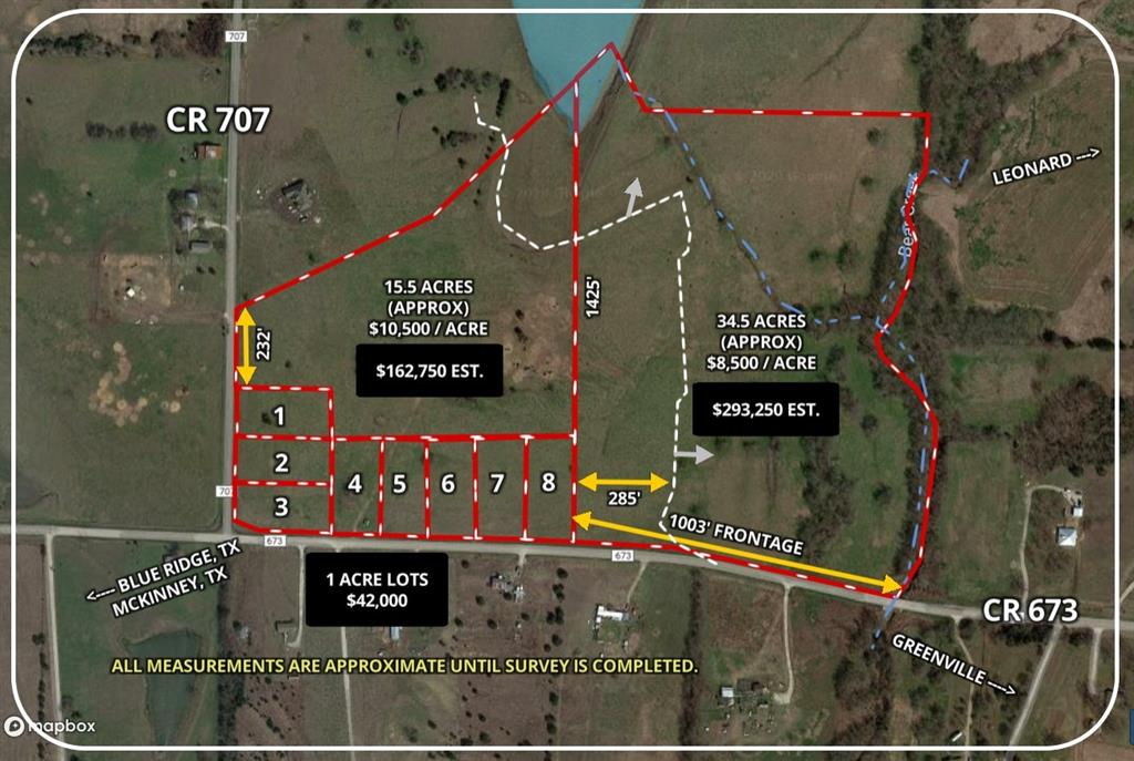 Lot 6 CR 673  Blue Ridge, Texas 75424 - Acquisto Real Estate best frisco realtor Amy Gasperini 1031 exchange expert
