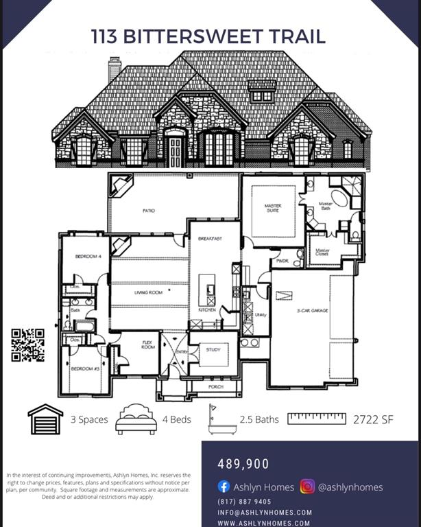113 Bittersweet  Trail, Peaster, Texas 76088 - Acquisto Real Estate best frisco realtor Amy Gasperini 1031 exchange expert