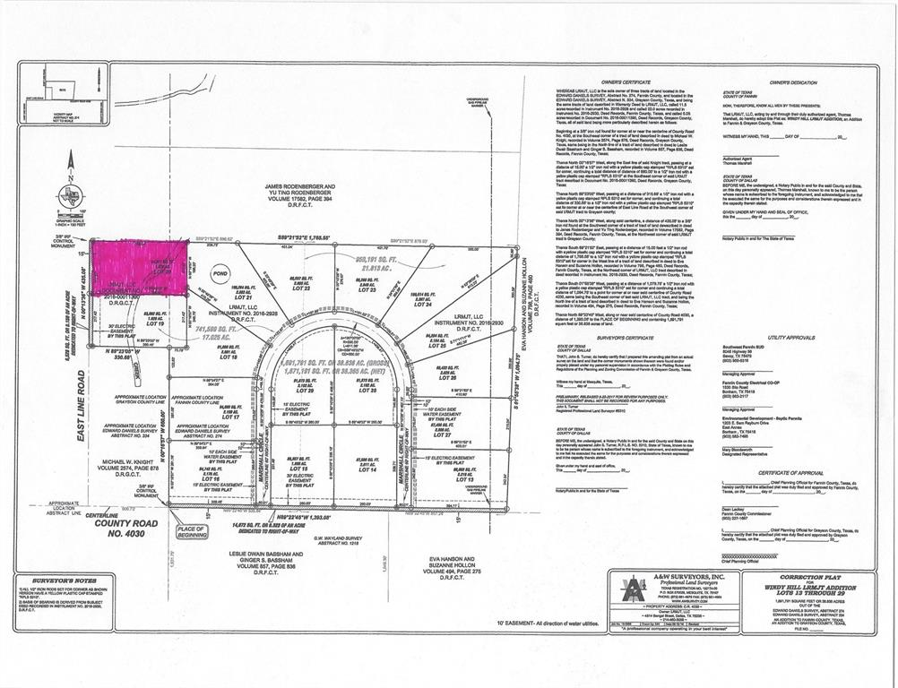 TBD Eastline  Road, Bells, Texas 75414 - acquisto real estate best highland park realtor amy gasperini fast real estate service