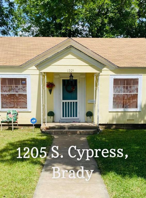 1205 Cypress  Street, Brady, Texas 76825 - Acquisto Real Estate best frisco realtor Amy Gasperini 1031 exchange expert
