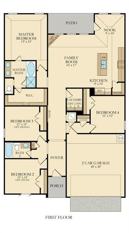 1113 Foxglove  Lane, Burleson, Texas 76028 - Acquisto Real Estate best frisco realtor Amy Gasperini 1031 exchange expert
