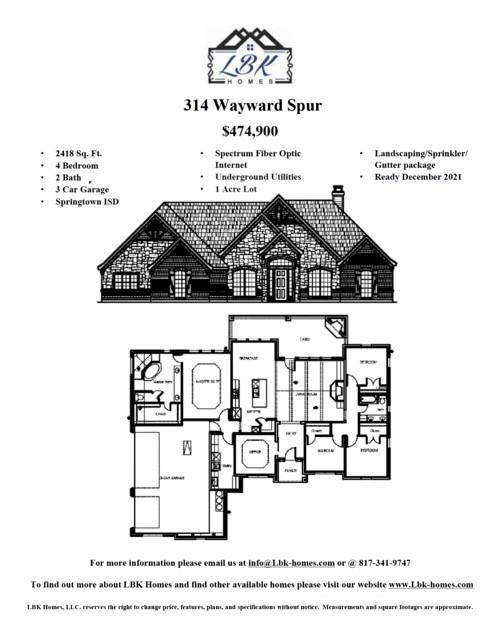 314 Wayward  Spur, Springtown, Texas 76082 - Acquisto Real Estate best frisco realtor Amy Gasperini 1031 exchange expert