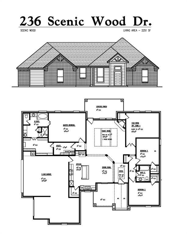 236 Scenic Wood  Drive, Reno, Texas 76020 - Acquisto Real Estate best frisco realtor Amy Gasperini 1031 exchange expert