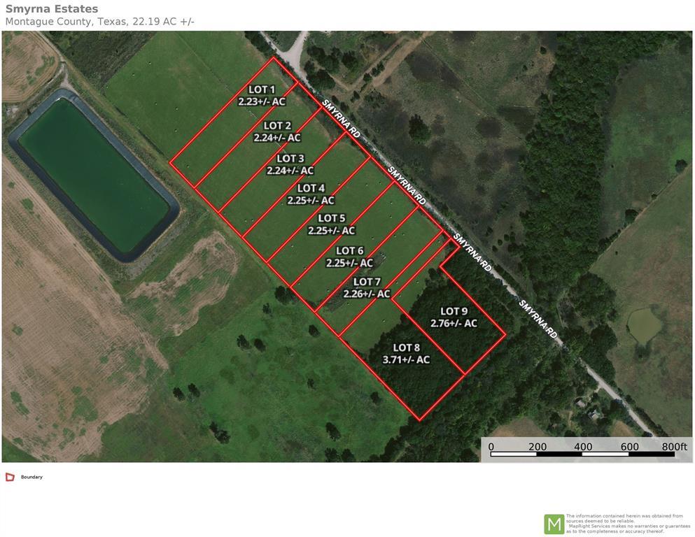 Lot 6 Smyrna Road  Road, Sunset, Texas 76270 - Acquisto Real Estate best frisco realtor Amy Gasperini 1031 exchange expert