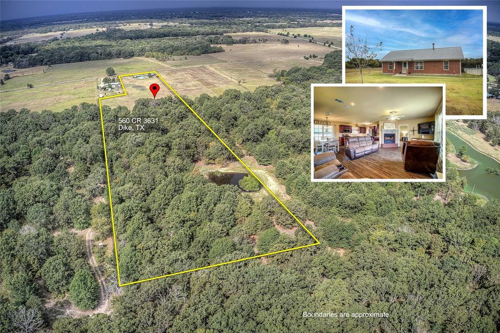 560 County Road 3631  Dike, Texas 75437 - Acquisto Real Estate best frisco realtor Amy Gasperini 1031 exchange expert