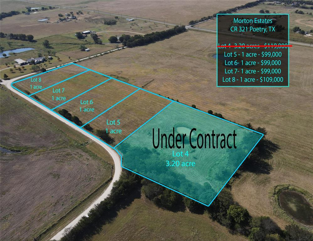 Lot 5 County Road 321  Poetry, Texas 75160 - Acquisto Real Estate best frisco realtor Amy Gasperini 1031 exchange expert