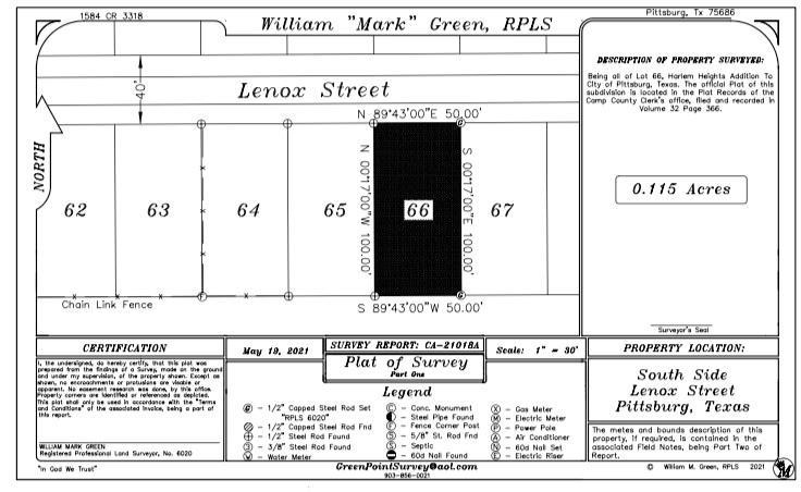 lenox  Street, Pittsburg, Texas 75686 - Acquisto Real Estate best frisco realtor Amy Gasperini 1031 exchange expert