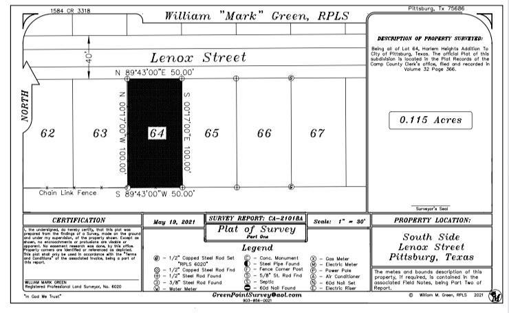 212 Lenox  Street, Pittsburg, Texas 75686 - Acquisto Real Estate best frisco realtor Amy Gasperini 1031 exchange expert