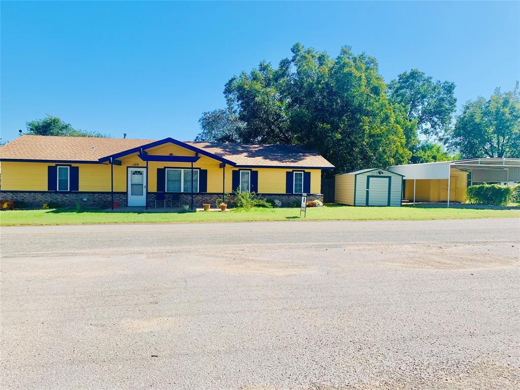 105 Speed  Street, Gustine, Texas 76455 - Acquisto Real Estate best frisco realtor Amy Gasperini 1031 exchange expert
